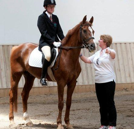 Equestrianism Christine Durrance Nancy Peters 03 442x426 - Gold & Silver for Melton's Christine