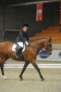 Para Dressage rider Emma Sheardown going for silver in Moorsele
