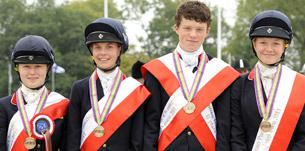 pony squad - Charles Owen British Pony Squad bring home team bronze and individual silver