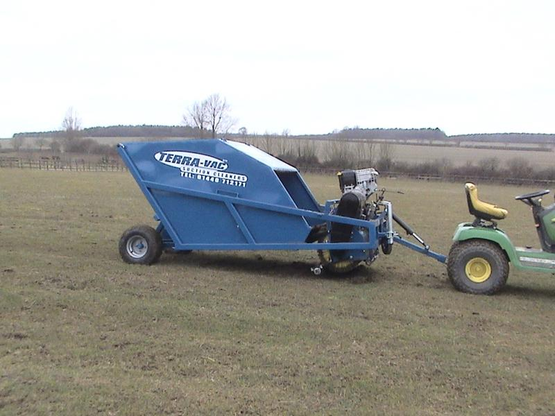 Compact Sweeper 5 - Winter Paddock Preparation