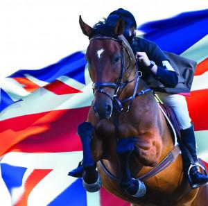 Bespokebrowbandredwhiteandblue 300x297 - 3 chances to shine for Pink Equine in 2012!