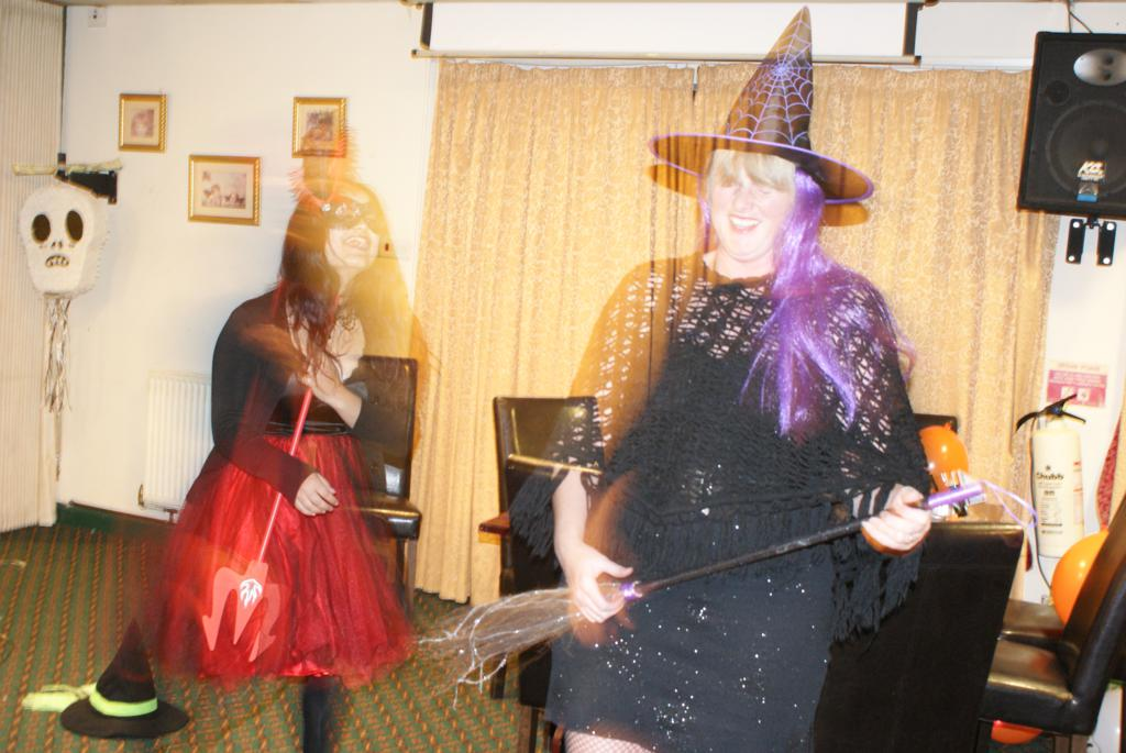 DSC00017 - Spooky goings-on at Notts BHS AGM