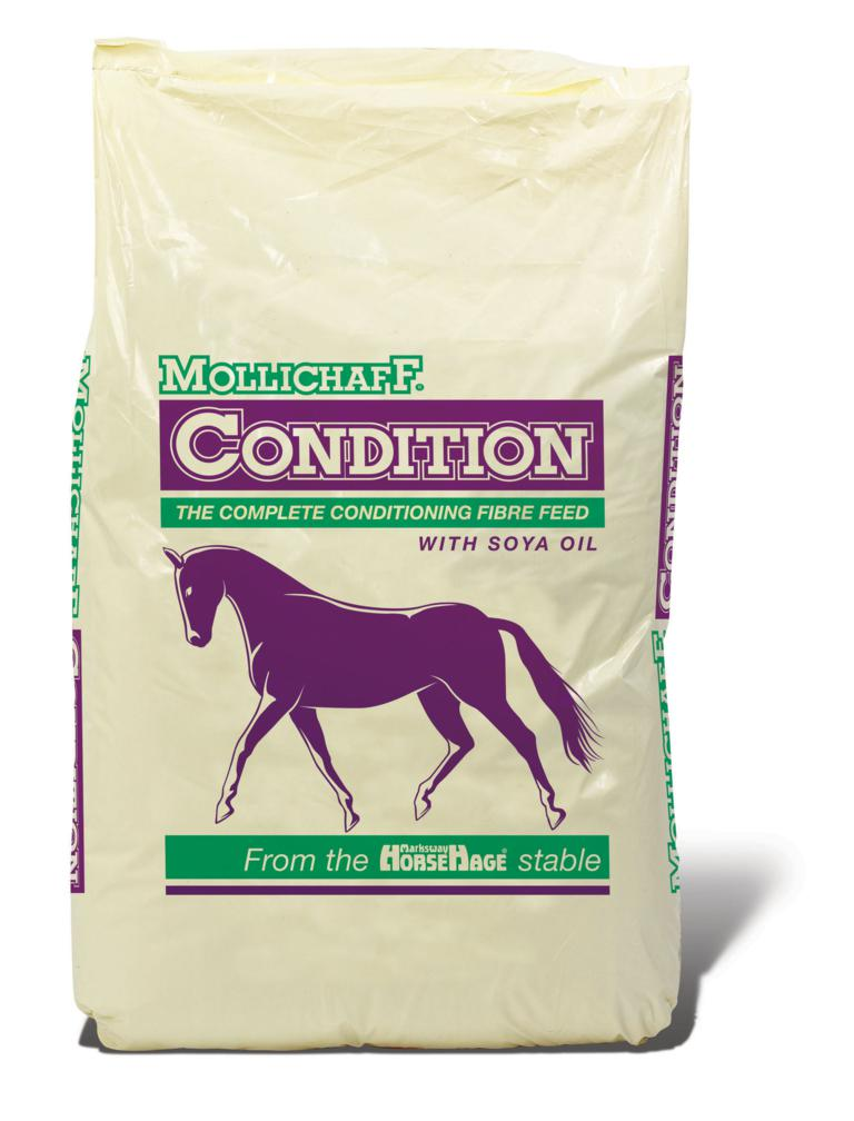 MolliChaff Condition WHITE BG - New Mollichaff Condition – A Complete Conditioning Feed in One Bag!