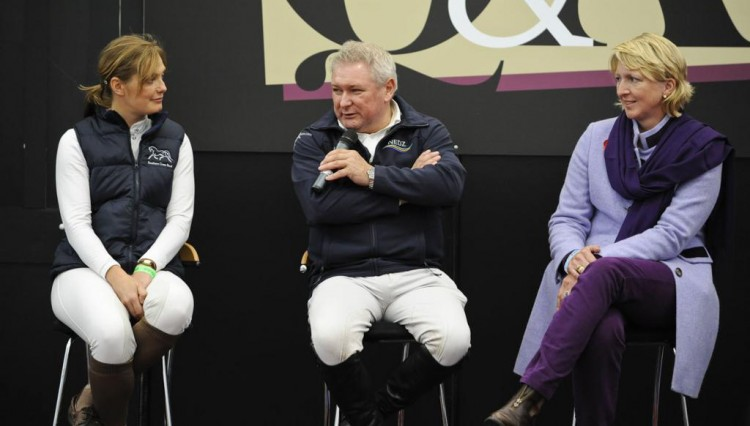YHL 2011 Anna Ross Davies Geoff Billington and Lucy Killingbeck 750x426 - Your Horse Live - were you there?