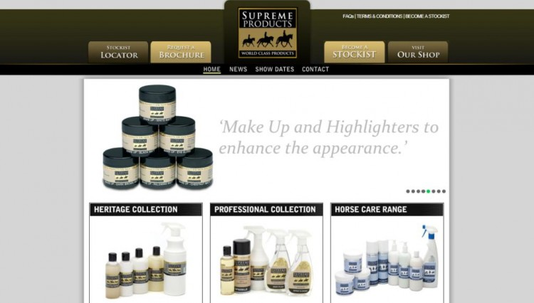 New Website Dec11 750x426 - Great Offers To Celebrate New Supreme Products Website!