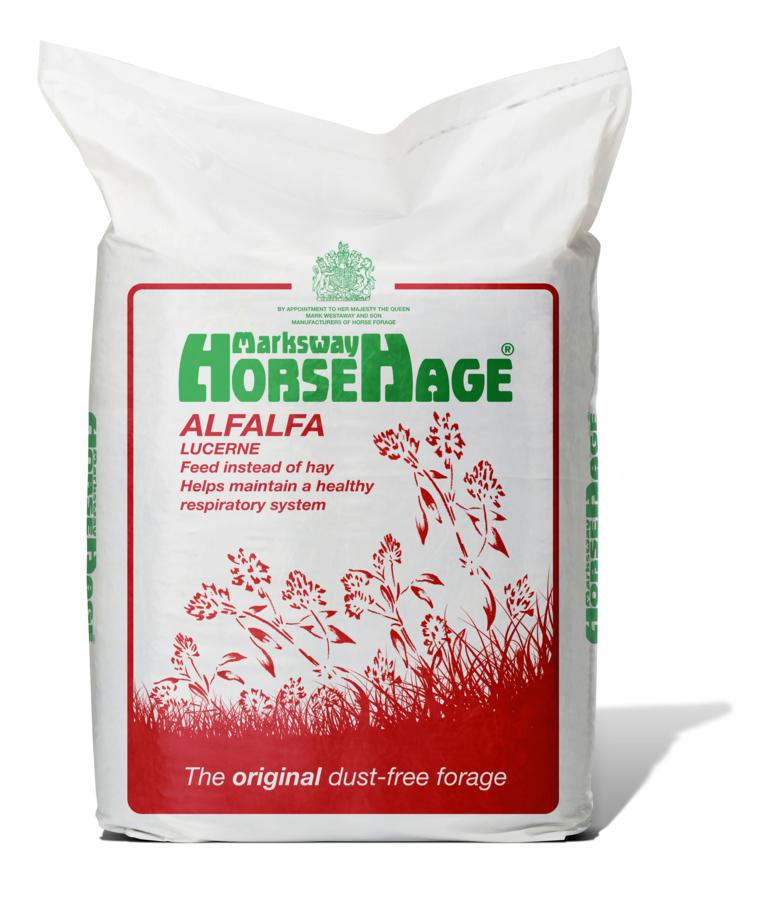 Alfalfa HorseHage - Thistledown Stud Gets The Alfalfa Advantage!