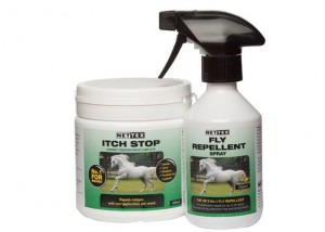 itch stop 600 & 250ml fly spray