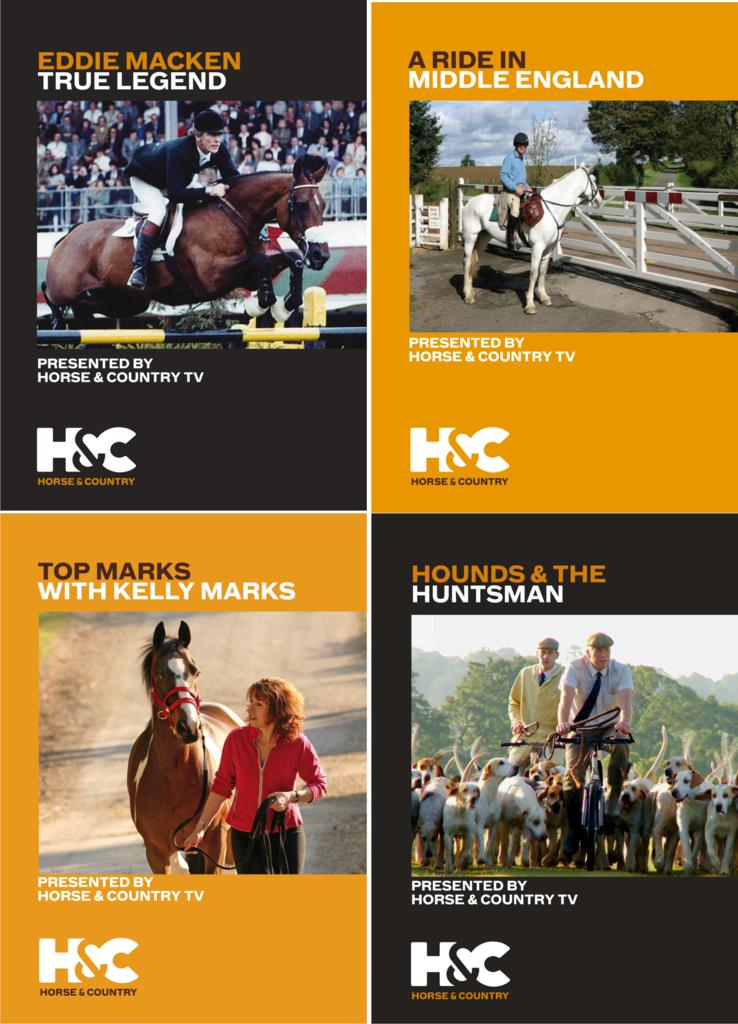 HorseAndCountryFour - EQUESTRIAN VISION NEW RELEASES IN CONJUNCTION WITH HORSE & COUNTRY TV
