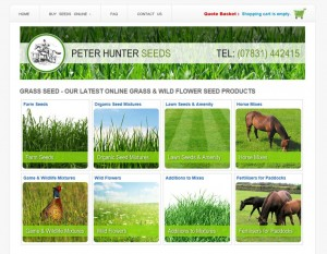 Hunter Seeds Website