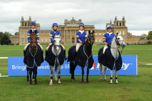 Members of the winning Surrey Union Pony Club team at the 2011 Fidelity Blenheim Palace International Horse Trials (600 x 400)