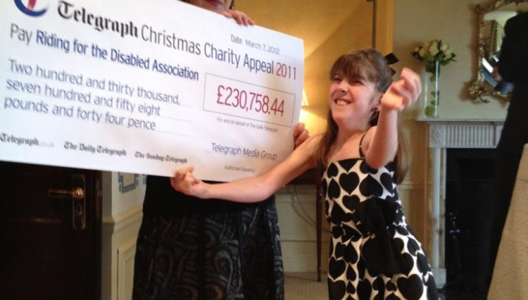 Telegraphpic2 750x426 - Telegraph Appeal Raises Over £230,000 for RDA