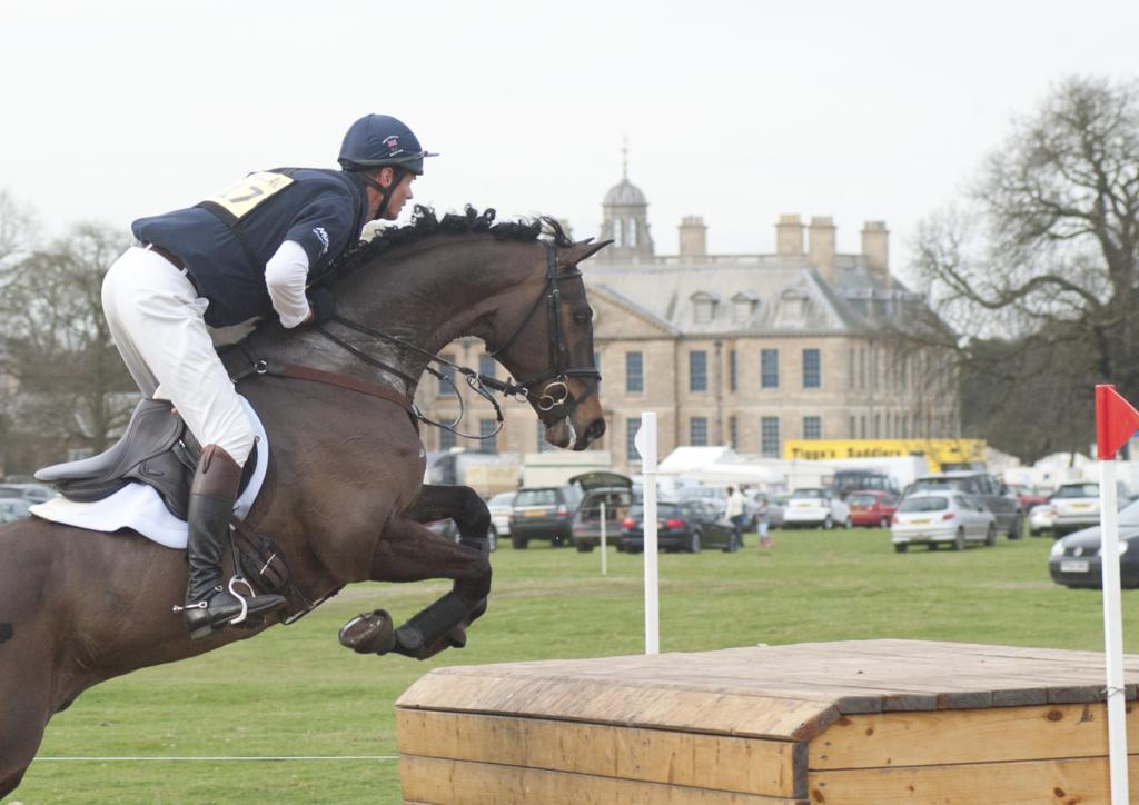 bede  AF15026 917 William Fox Pitt Lionheart - Temperatures Rise at Belton!