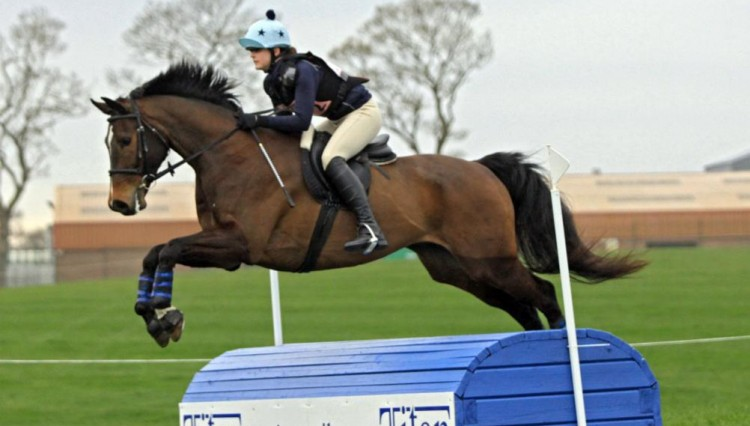 Sarah Jane Barton and Westpoint Amidou 750x426 - EquestrianClearance.com BE80(T) Proves Popular at Stafford