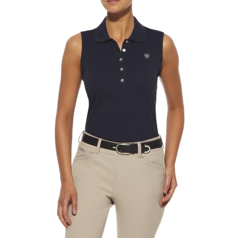 10008975 Prix Polo Navy - The sleeves are off for summer!