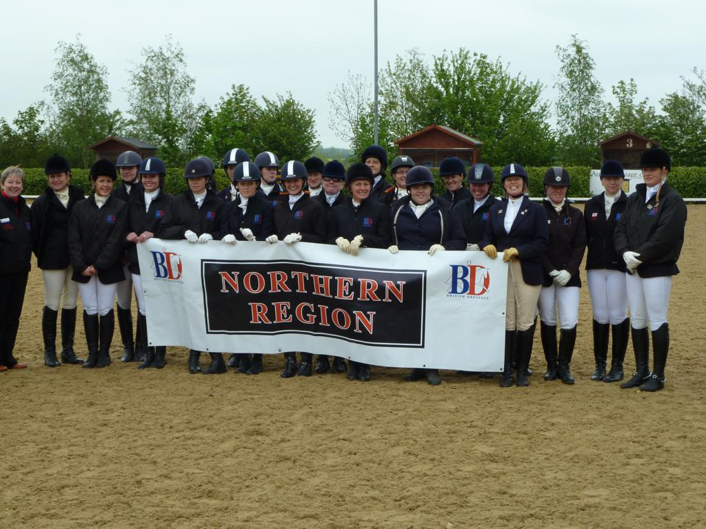 SIR Team 2012 - British Dressage Northern Region - Senior Inter Regional Success!