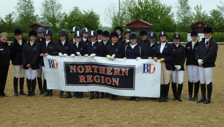 SIR Team 20121 750x426 - British Dressage Northern Region - Senior Inter Regional Success!