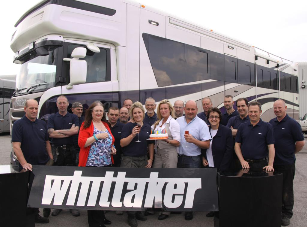 20th Birthday - 20th Birthday Celebrations for Whittaker Coachbuilders