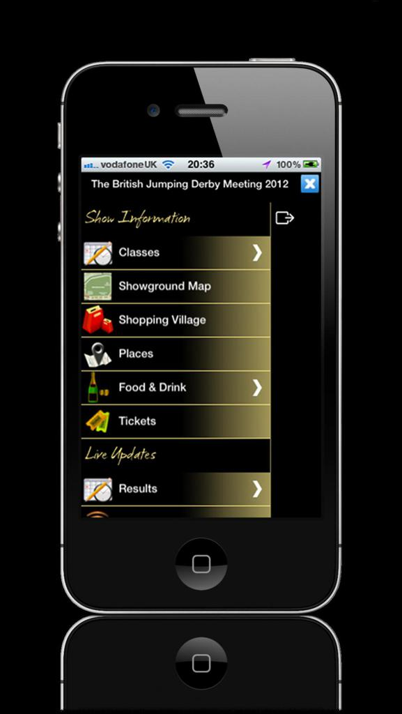 iphone app 2 Hickstead 2012 - Hickstead's App is back – and it's bigger and better than before!