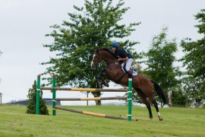 Clayton Fredricks 300x200 - Top Riders turn out for annual Lincoln JumpCross Eventer's Challenge 2012