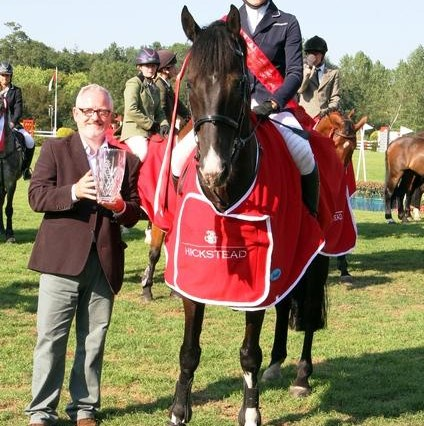 Millie Singleton c Julian Portch 424x426 - Hurstpierpoint College student  takes top prize at Hickstead