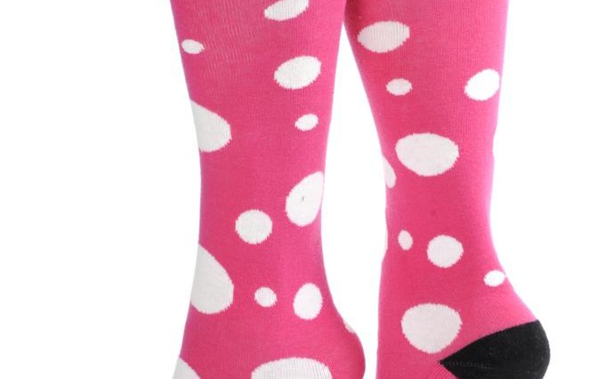 Pink Pom Pom socks 681x426 - Spot the difference this season!