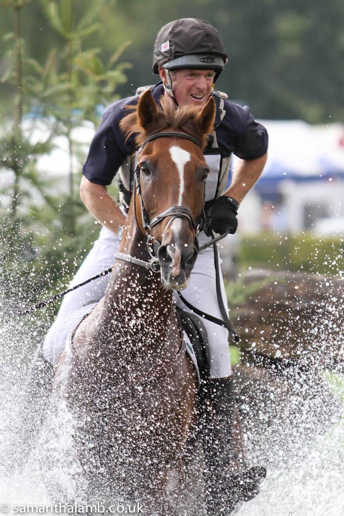 RIHS11Thurs 6071 - Can a Grand National-winning jockey Power to victory in the Amlin Plus Eventing Grand Prix?