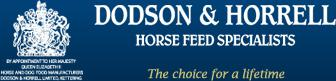 Dodson and Horrell Logo - Win official shirt signed by British Equestrian Team with Dodson & Horrell at Burghley