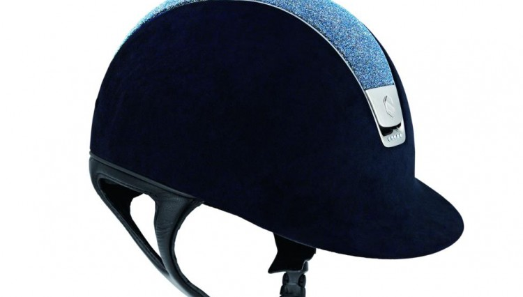 13 SAMSHIELD France Riding helmet Premium Alcantara 750x426 - Helmets Made With Swarovski Elements Excite the Accessory World