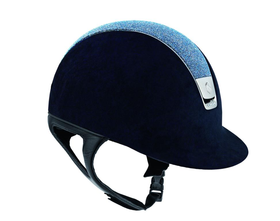 13 SAMSHIELD France Riding helmet Premium Alcantara - Helmets Made With Swarovski Elements Excite the Accessory World