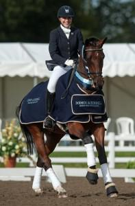 Espayo National Dressage Championships 2012 - Stoneleigh Park, Warwickshire, United Kingdom - 14 September 2012