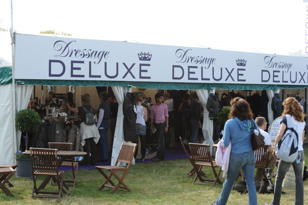 Dressage Deluxe The One Stop Shop - DRESSAGE EMPORIUM ARRIVES IN STYLE