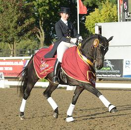 HHInterII - National Dressage Title for Yorkshire  Rider