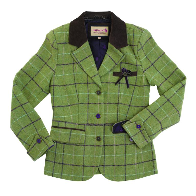 J480 Victoria Tweed Jacket front CUTOUT 1 - There's nothing twee about Tayberry's new Tweed!