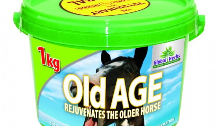 OldAge 1kg 750x426 - OLD AGE FORMULA CARING FOR THE VETERAN HORSE