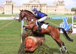 Zara Phillips riding High Kingdom at Blenheim-low res