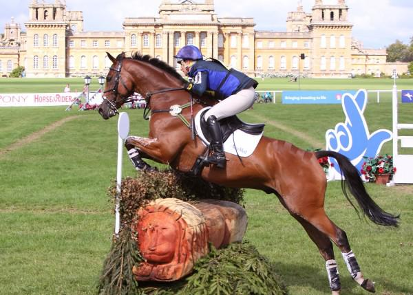 Zara Phillips riding High Kingdom at Blenheim low res - OLYMPIANS TO CELEBRATE WITH SPECTATORS