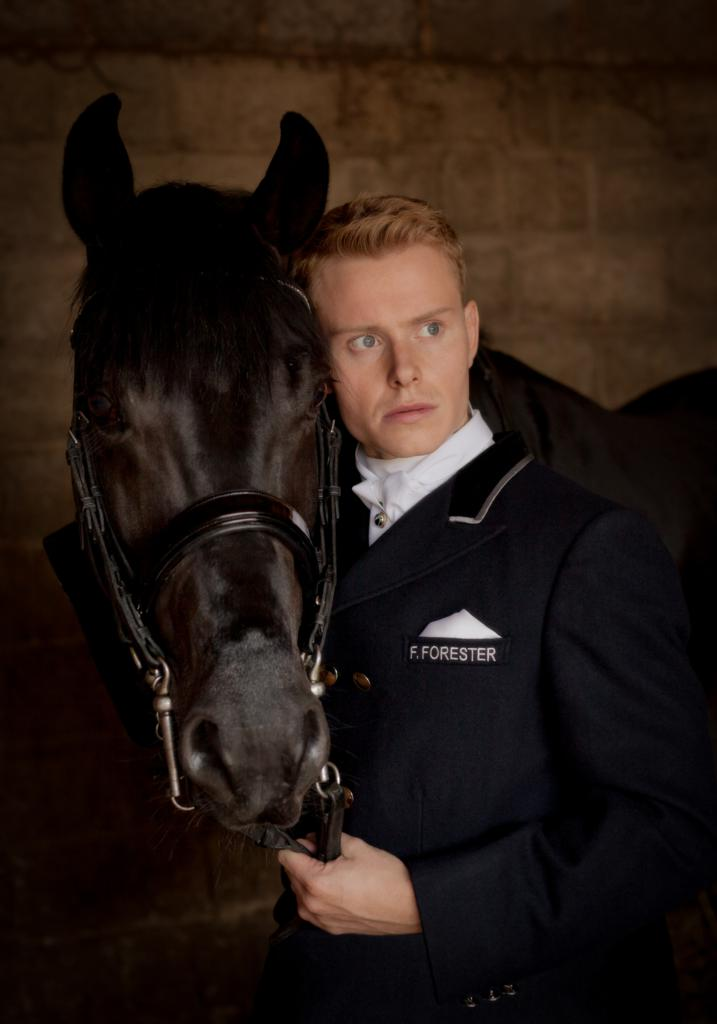 Layke Anderson in The Equestrian - Horse & Country TV to premiere new dressage film, The Equestrian