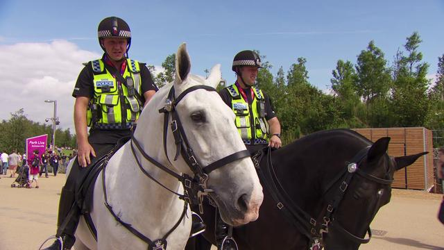 mounted police - Mounted Police New Film Shows Behind The Scenes At The Olympics