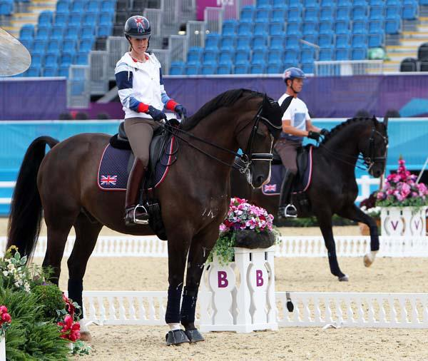 CD Saddlecloth Auction Carl + Charlotte - Classic Dressage auctions top riders' saddlecloths for a great cause