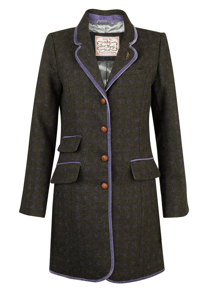 Jack Murphy Long Jacket - Tweed is the Winning Ticket
