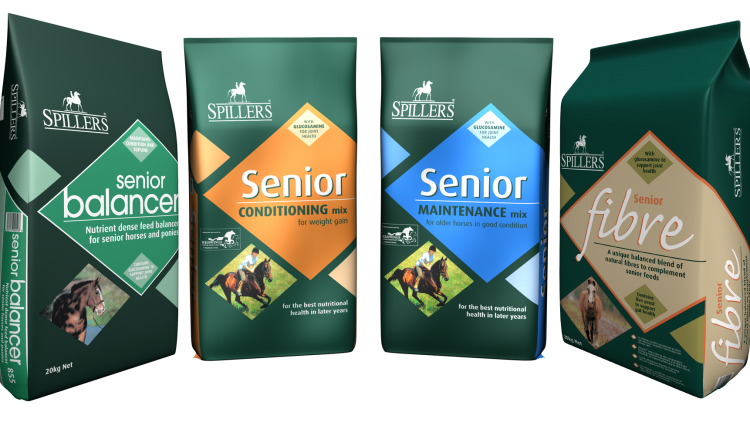 SENIOR Range 750x426 - SPILLERS® Senior – the easy way to keep every oldie in shape