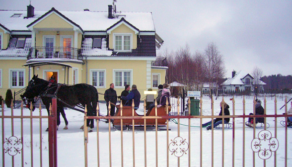 sleigh img 4 - Saddle up for exceptional riding and spa indulgence in stunning Baltic coast location
