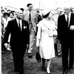 HM the Queen's visit to the Three Counties Show in 1968