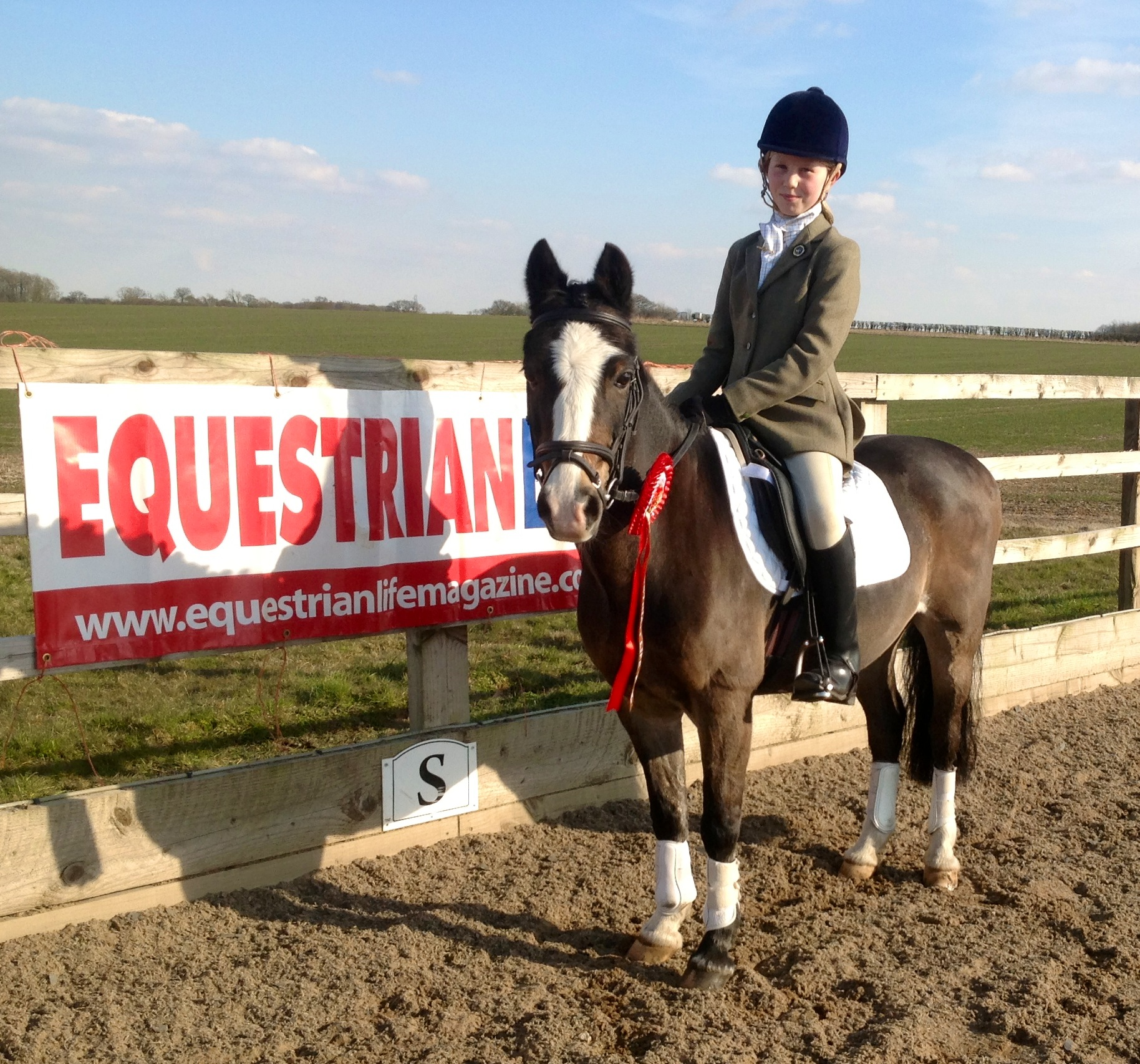 Dressage Champs pic - Happy faces at the Equestrian Life Dressage Champs