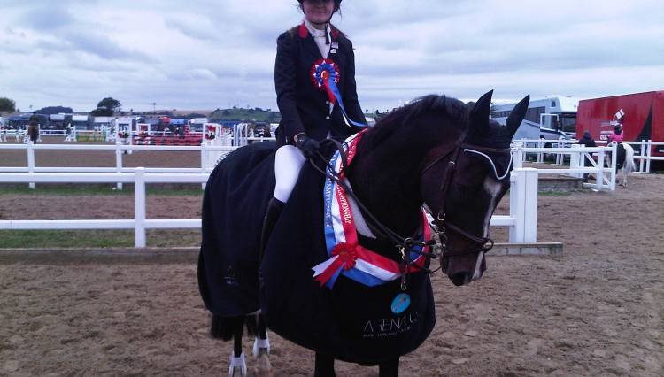 Hannah Price 80cm horse champion 750x426 - Still time to get points by joining the BS Club
