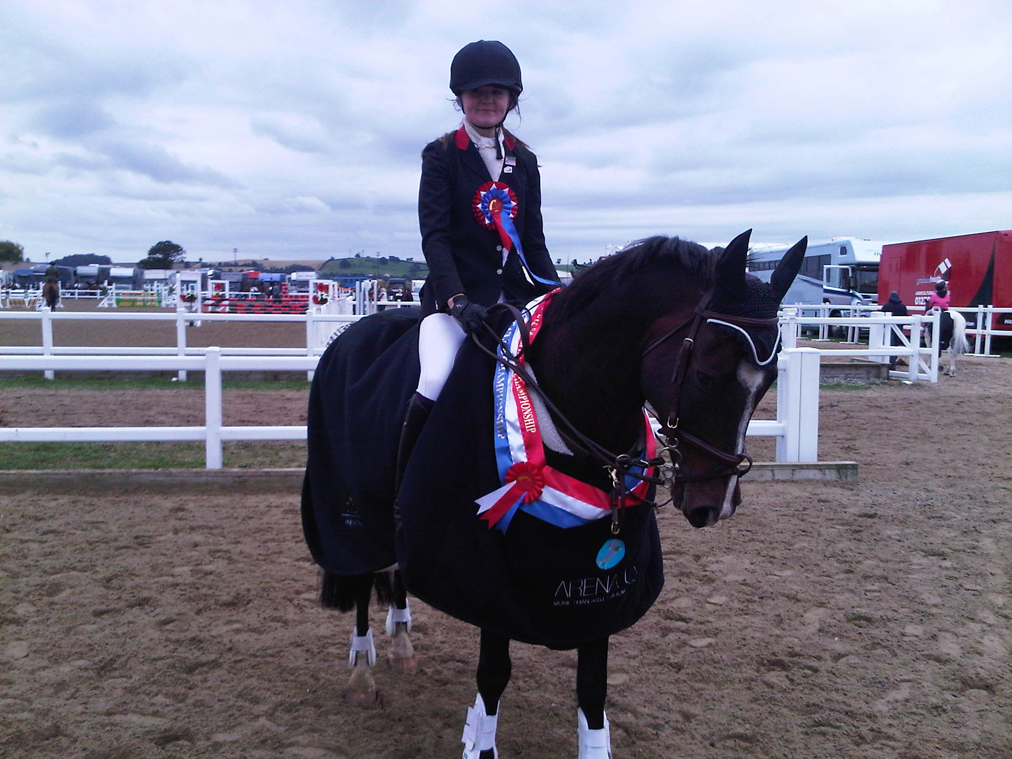 Hannah Price 80cm horse champion - Still time to get points by joining the BS Club