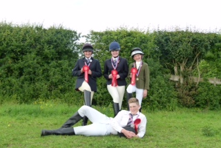 Ackworth Juniors - Ackworth Juniors take Top Spot Again at Area Horse Trials!