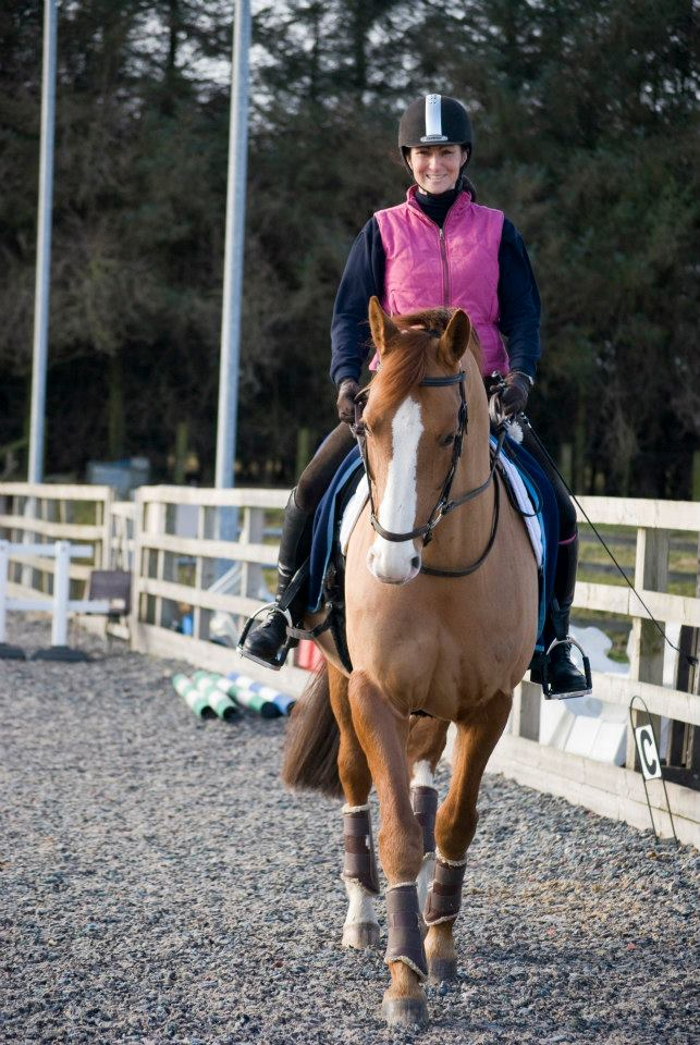 MFT Sponsored Rider - Gayle Bloomfield wins sponsorship from Mirrors for Training!