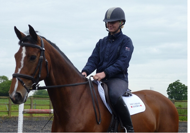 AliciaHawker 607x426 - Talented young event rider Alicia Hawker chooses Sue Carson Saddles