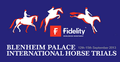 Blenheim Horse Trials logo - Win tickets to Blenheim Horse Trials